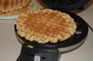 Delicious Cakey Waffle