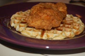 Finalised Chicken and Waffles
